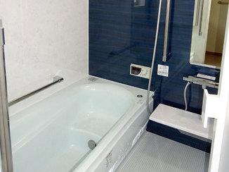 バスルームリフォーム お手入れのしやすさとデザインにこだわったバスルーム