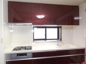 キッチンリフォーム収納力のあるお気に入りデザインのキッチン