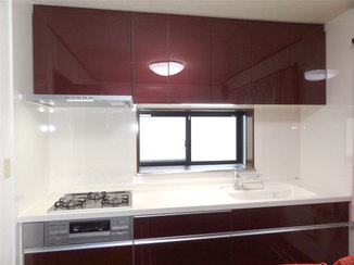 キッチンリフォーム 収納力のあるお気に入りデザインのキッチン